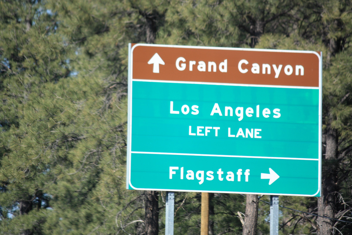To Grand Canyon